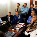 According to the new Obama campaign ad and the President's remarks, this is the team that was responsible for the Osama bin Laden raid.