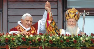 Pope Benedict XVI and Ecumenical Patriarch Bartholomew