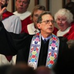 Anderson is the first openly gay person to be ordained to the ministry in the Presbyterian Church (USA), the largest Presbyterian denomination. (AP Photo/Wisconsin State Journal/Craig Schreiner)