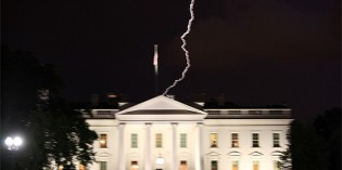 As Obama Ignored Easter, White House Hit By Lightning
