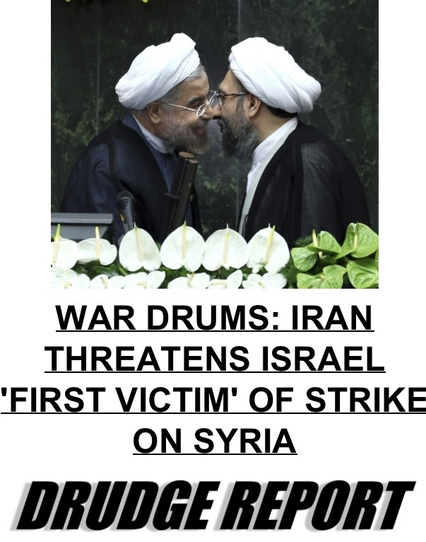Iran Says Israel Will Be Attacked If US Strikes Syria