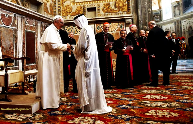historic-first-muslim-prayers-vatican-pope-francis-revelation-17-false-prophet-one-world-religion