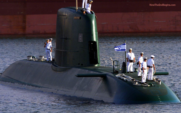 Israel To Permanently Deploy Nuclear-Armed Submarines Off Iran Coast