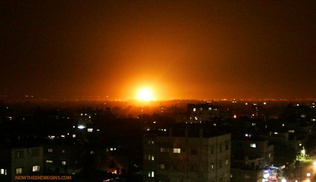 israeli-planes-hit-gaza-in-response-to-rocket-strikes-iron-dome-intercepts-june-21-2014