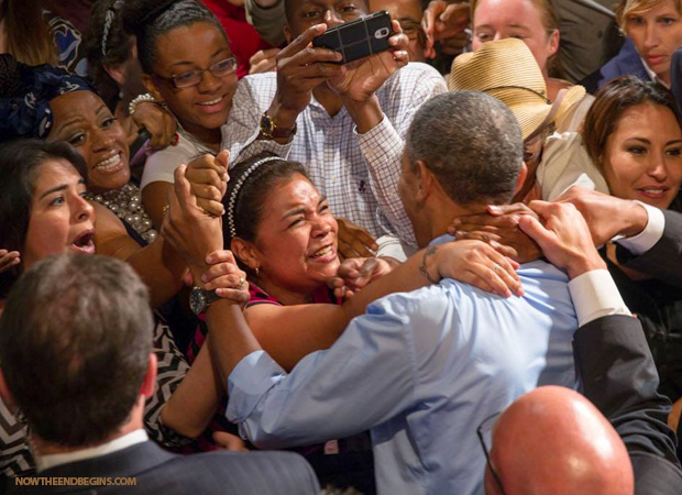 obama-being-worshipped-by-his-deluded-entitlement-liberal-progressive-illegal-aliens-followers-hitler
