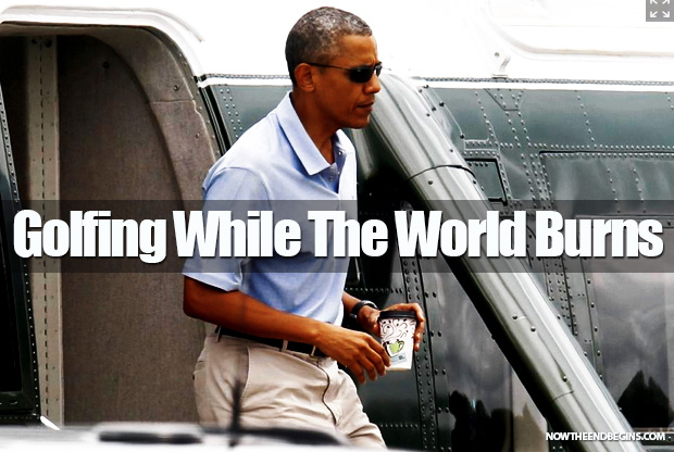 obama-golfs-while-russia-syria-israel-gaza-spin-out-of-control