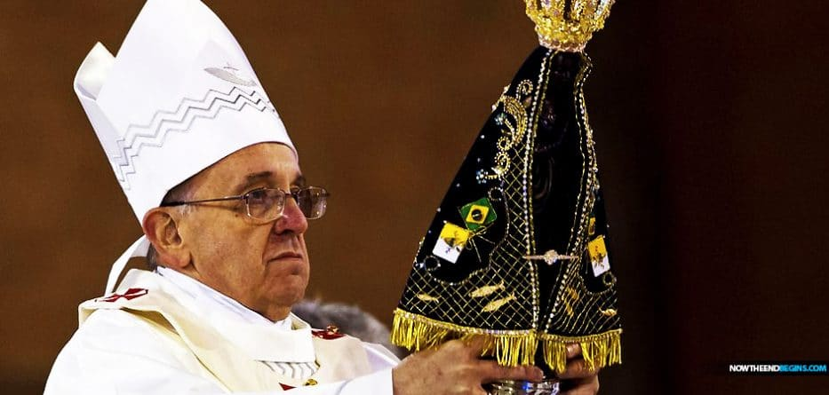 pope-francis-black-madonna-mariology-virgin-mary-worship-fourth-part-trinity