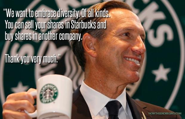Starbucks heterosexual marriage pictures