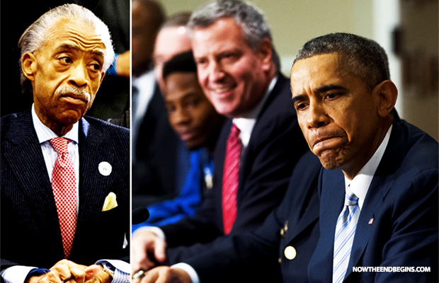 al-sharpton-barack-obama-new-york-mayor-bill-deblasio-race-baiter-haters-anti-cop