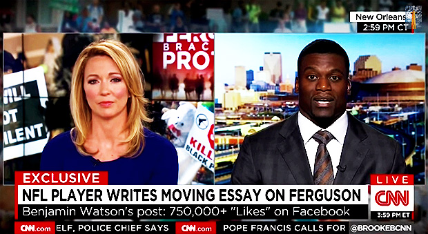 Cnn Brutally Cuts Off Benjamin Watson As He Proclaimed Salvation In  Cnn Brutally Cuts Off Benjamin Watson As He Proclaimed Salvation In Jesus  Christ  Now The End Begins Personal Narrative Essay Examples High School also Cheap Custom  Phd Writing Service