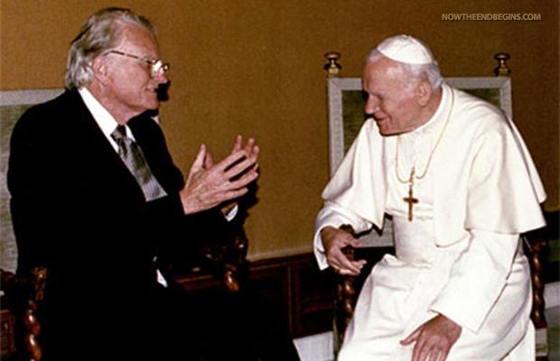 billy-graham-pope-catholic-church-vatican-false-gospel