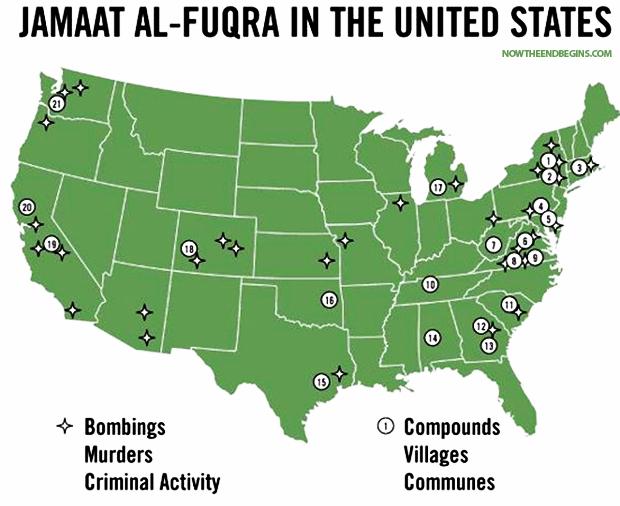 Pamela Geller Exposes Americas Dirty Secret 22 Islamic Terror - Isis Training Camps In Us Map