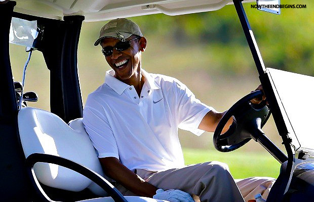 obama-goes-golfing-as-world-mourns-christian-martyrs-killed-by-isis-islamic-state-february-16-2015