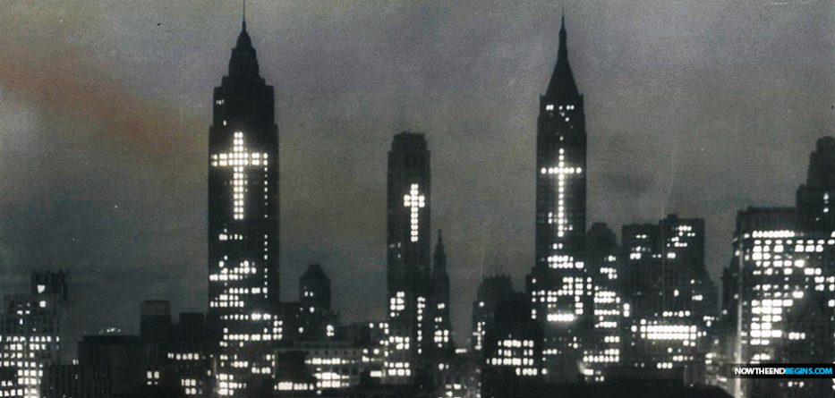 3-crosses-lower-manhattan-new-york-city-easter-1956