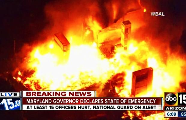 baltimore-set-on-fire-race-riots-april-2015