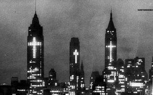 easter-1956-3-crosses-new-york-city