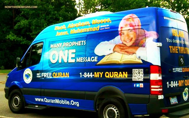 quran-koran-mobile-rolling-across-america-islamization-of-america-muslims