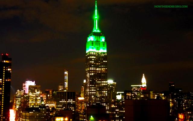 empire-state-building-nyc-lit-up-green-celebrate-end-ramadan-eid-mubarak-stop-islamization-of-america