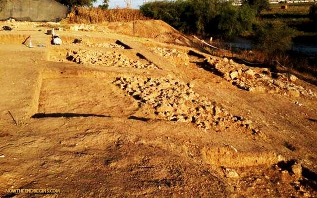 israeli-archaeologists-at-bar-ilan-discover-entrance-gate-to-philistine-city-gath-goliath-giant