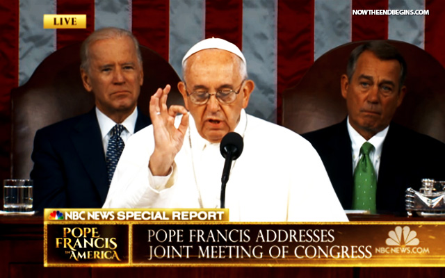 pope-francis-addresses-congress-september-24-2015-false-prophet-antichrist-obama-revelation-17