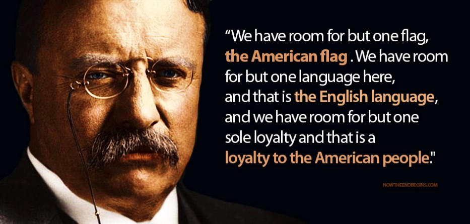 Teddy Roosevelt Has The Perfect Answer For Today's Muslim Migrant