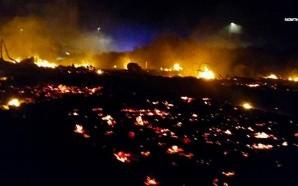 muslim-migrants-burn-jungle-calais-france-war