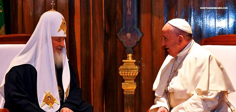 pope-francis-vatican-meets-with-eastern-russian-orthodox-patriarch-krill-end-times-whore-babylon-nteb