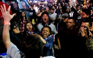 george-soros-paid-protesters-storm-california-gop-convention-donald-trump-nteb-new-world-order