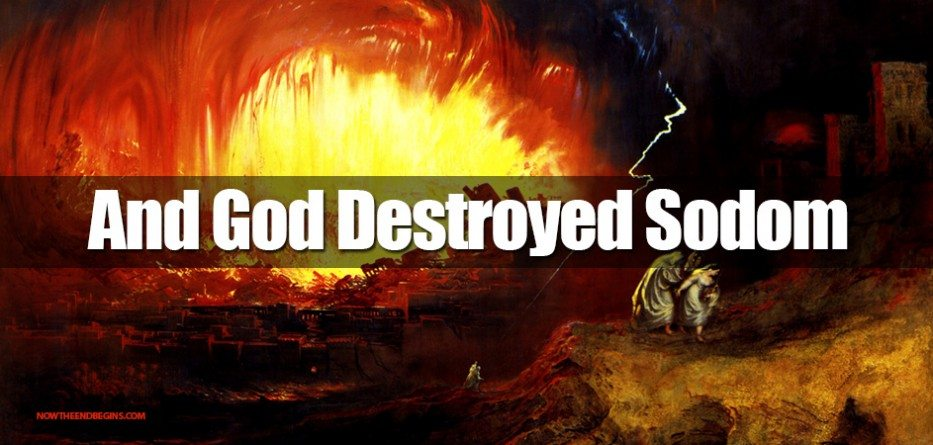 Was the sin of sodom and gomorrah homosexuality