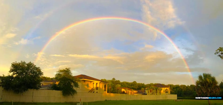 God's rainbow, the one that He set in the sky as a sign to Noah, has 7 observable colors in it -red, orange. yellow, green, blue, violet, and indigo.