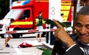 obama-grins-laughs-through-another-press-conference-islamic-terror-attack-munich-germany