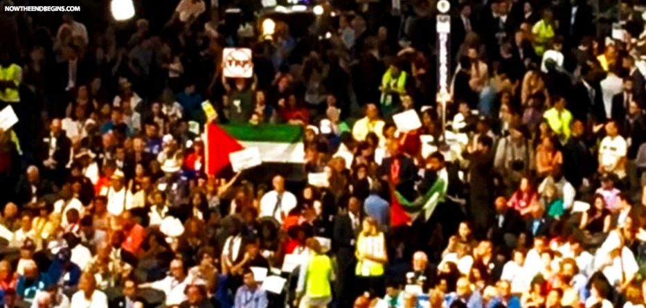 only-flag-at-dnc-was-palestinian-flag-no-american-flown