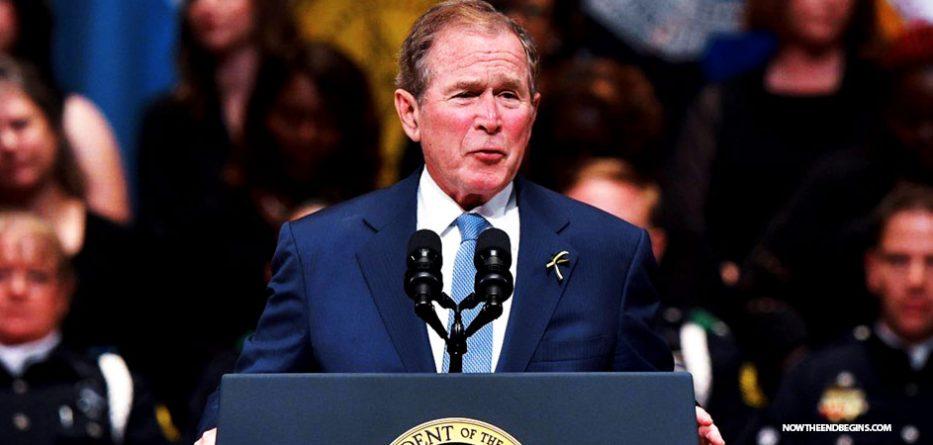 new-world-order-globalist-george-w-bush-attacks-donald-trump-islam-muslims