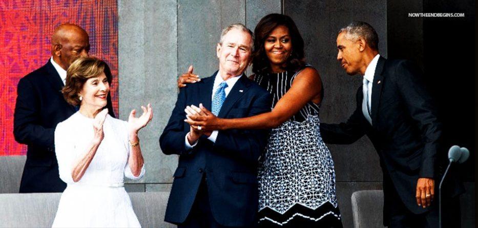 george-bush-crime-family-obama-support-hillary-clinton-traitor