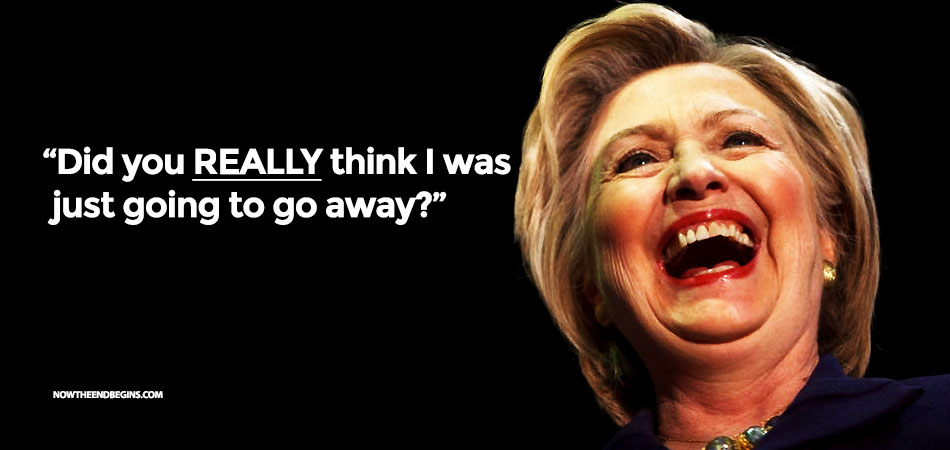 Crooked Hillary Refuses To Accept Election Results