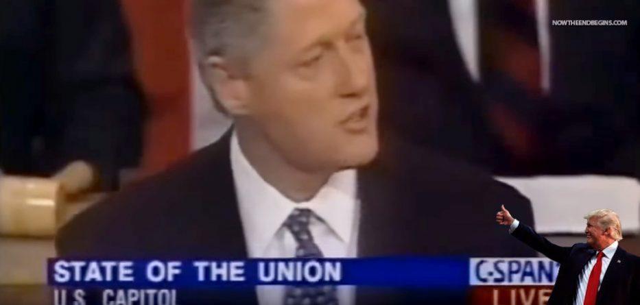 president-trump-listens-to-bill-clinton-barack-obama-talk-illegal-immigration-aliens-build-wall