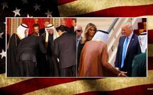 unlike-obama-president-trump-dd-not-bow-saudi-arabia-meeting-king-maga