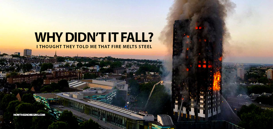 why didnt the inferno at grenfell towers yesterday make