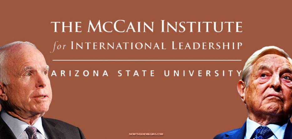 john-mccain-institute-leadership-funded-george-soros