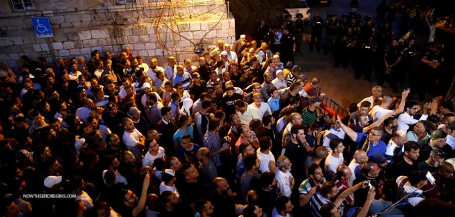 Jew Detector: Temple Mount Tensions Ready To Explode Over Israel's Use