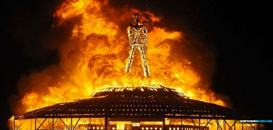 World 39 s largest pagan festival 39 burning man 39 set to start this sunday in the black rock desert - Festival burning man 2017 ...