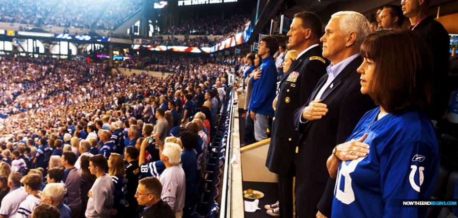 vice-president-mike-pence-walks-out-colts-49ers-boycott-nfl-football-game-when-players-kneeled-nteb