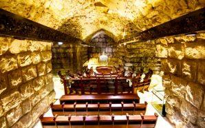 jewish-synagogue-opens-tunnel-under-western-wall-jerusalem-israel-now-end-begins