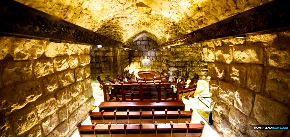 Mysterious New Synagogue Opens In Tunnel Deep Under The