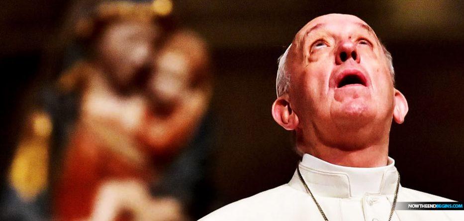 pope-francis-lords-prayer-matthew-6-roman-catholic-vatican-antichrist