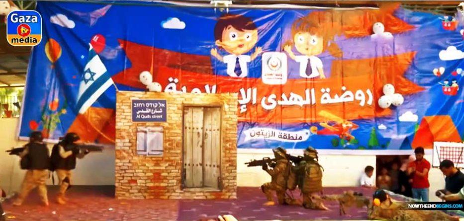 gaza-children-trained-to-hate-jews-israel