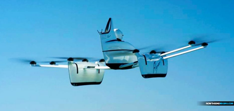 Amazing Flying Car Startup 'Project Kitty Hawk' Financed By Google Co-Founder Larry Page Begins Test Flights Google-flying-car-project-kitty-hawk-933x445