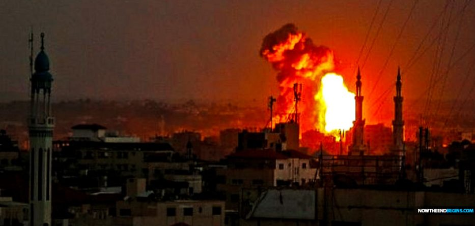 israel-air-force-idf-strikes-targets-gaza-strip-hamas-war-looms-nteb