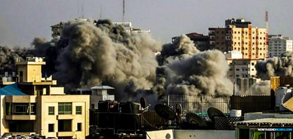 israel-air-strikes-gaza-city-hamas-july-14-2018-now-the-end-begins