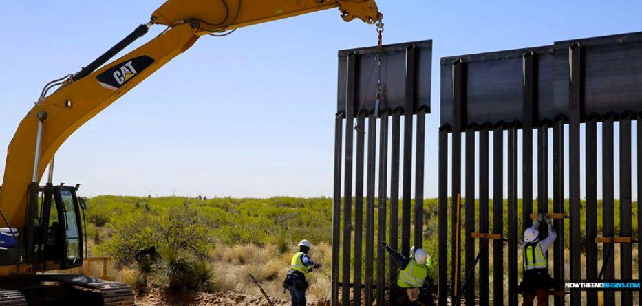 president-trump-border-wall-under-construction-el-paso-texas-mexico
